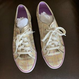 Coach cloth sneakers